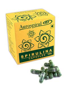 Спирулина (Spirulina) 100 капсул